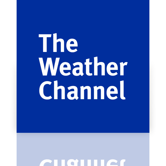 channel, mirror, weather icon