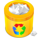 full,recycle,bin icon
