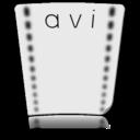 file,avi,video icon