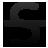 font, strokethrough icon