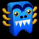 Blue creature icon