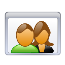 users, couple, people icon