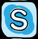 media, network, social media, communication, skype, web, social icon