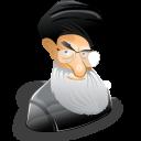 user, male, cartoon, human, man, ayatollah, person, khamenei, leader, people, member, account, profile, ali icon