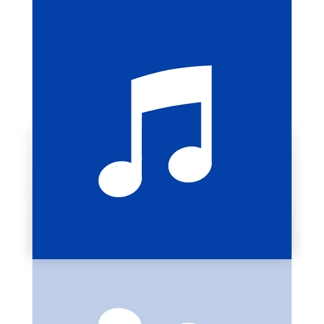 alt, itunes, mirror icon