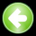 prev, backward, left, back, previous icon
