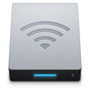 Airport, Disk, Network icon