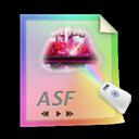 Asf, Files icon