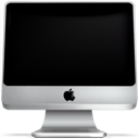 computer, screen, imac, monitor, off icon