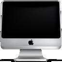 computer, screen, imac, monitor, off icon