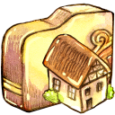 folder, home, homepage, house, building icon