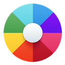 color, colors, themes icon