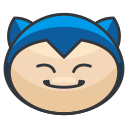 pokemon, play, snorlax, go, game icon