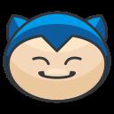 pokemon, play, snorlax, go, game icon