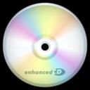 cd,enhanced,disc icon