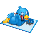 twitter phone icon