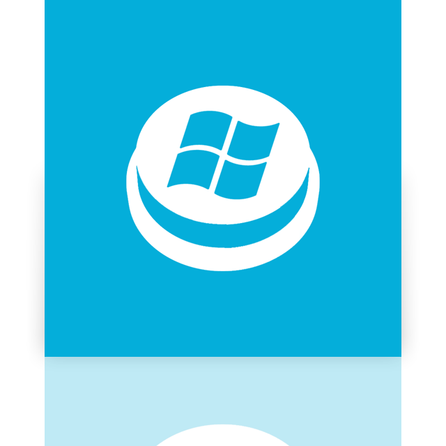 start, button, mirror icon