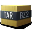 bzip, mime, compressed, gnome, tar icon