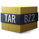 tar, bzip, compressed icon