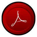adobe, acrobat, reader icon