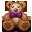 Bear, Teddy, Toy icon