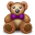 teddy bear, toy, bear icon