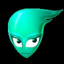 Cyan icon