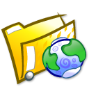html, htm, folder icon
