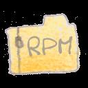 filetype, rpm icon