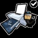 Network, Printer, Standard icon