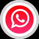 whatsapp, logo, social, media icon