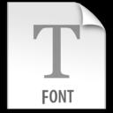 z File FONT icon