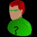 riddler,cartoon icon