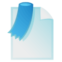 tag, file, paper, document, bookmark icon