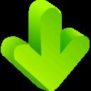 Arrow Green 02 icon