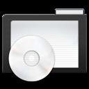 Dark, Folder, Music icon