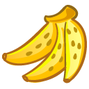 fruit, banana icon
