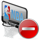 sport, basketball, delete, nba, del, recyclebin, trash, remove icon