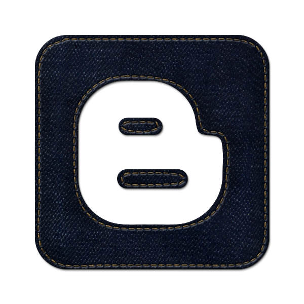 denim, social, square, jean, logo, blogger icon