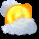 sun, cloudy icon