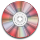red, disk, cd, rw, disc, save icon