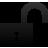 Open, Padlock, Unlocked icon