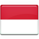 country, indonesia, flag icon
