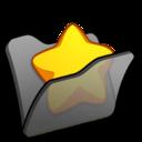 folder,black,favourite icon