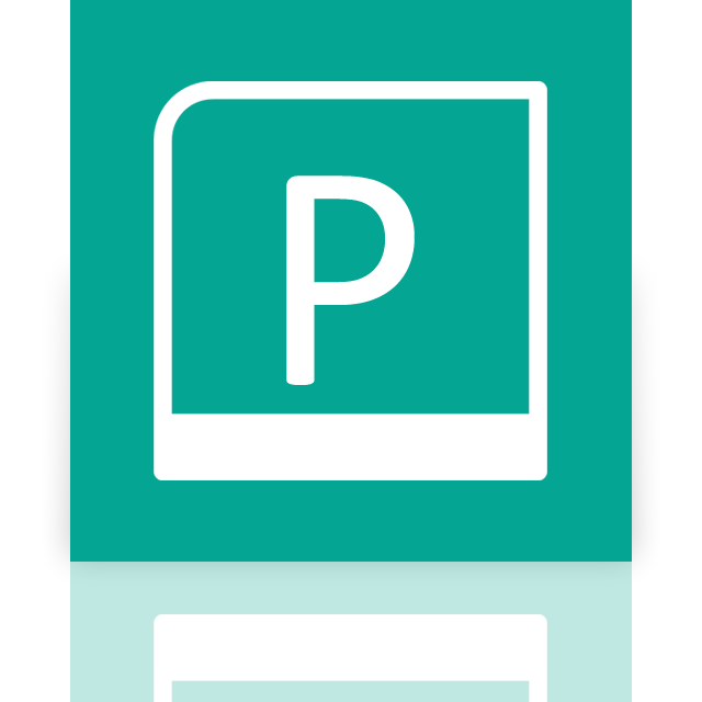publisher, mirror icon