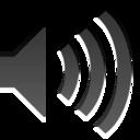 audio volume low zero panel icon