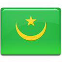 flag, mauritania, country icon