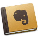 Evernote Brown icon