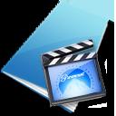 movie, video, film icon