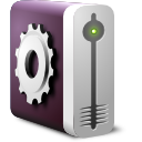 system, drive, harddisk icon